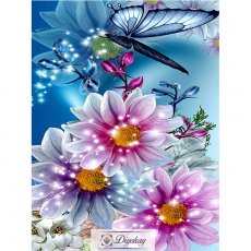 diamond painting - beautiful flower 22