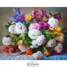 diamond painting - beautiful flower 20