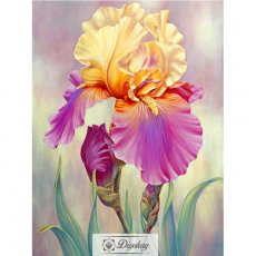 diamond painting - beautiful flower 16