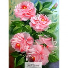 diamond painting - beautiful flower 18
