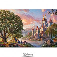 diamond painting - Beauty and the beast