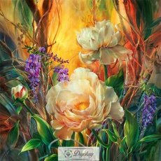 Diamond Painting - Beautiful flowers 103