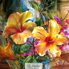 Diamond Painting - Beautiful flowers 102