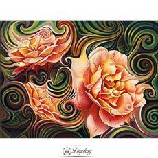 Diamond Painting - Beautiful flowers 2