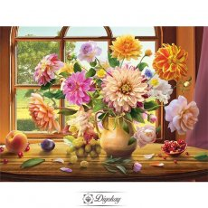 Diamond Painting - Beautiful flowers 3
