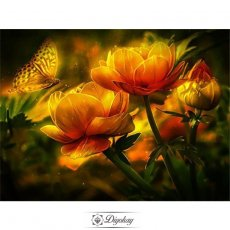 Diamond Painting - Beautiful flowers 5