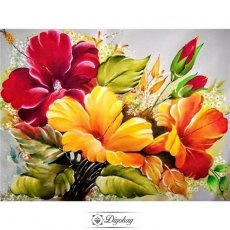 Diamond Painting - Beautiful flowers 4