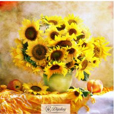 Diamond Painting - Sun flower
