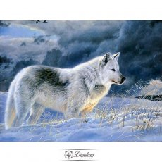 Diamond Painting - Wolf 8