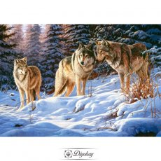 Diamond Painting - Wolf 7
