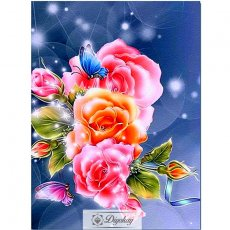 Diamond Painting - Beautiful flowers 9