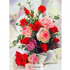 Diamond Painting - Beautiful flowers 6