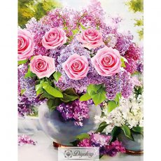 Diamond Painting - Beautiful flowers 10