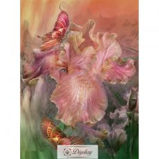Diamond Painting - Flower butterfly