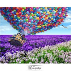 Diamond Painting - Flower sea hydrogen balloon