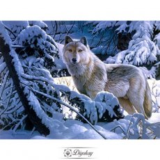 Diamond Painting - Wolf 10