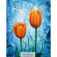 Diamond Painting - Beautiful flowers 16