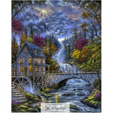 Diamond Painting - Forest cottage 14