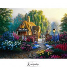 Diamond Painting - Forest cottage 16