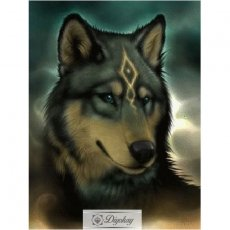 Diamond Painting - Wolf 24