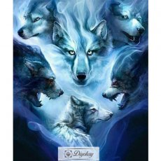 Diamond Painting - Wolf 16
