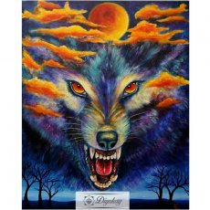 Diamond Painting - Wolf 13