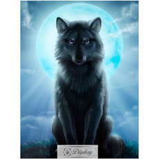 Diamond Painting - Wolf 17