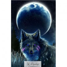 Diamond Painting - Wolf 12