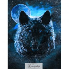Diamond Painting - Wolf 34