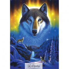 Diamond Painting - Wolf 43