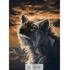 Diamond Painting - Wolf 40