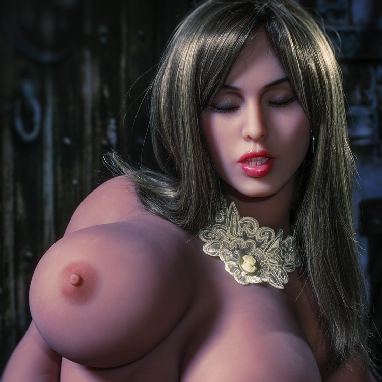 Closed eyes, Dark goddess, Big tits, Exdoll, Lumidoll