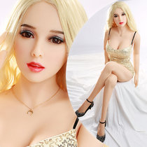 158cm Golden Hair and Delicate Face Doll for Men Sex