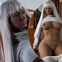 165cm White-haired Muscular Indian Sex Doll