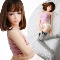 140cm Short hair round face soft girl sex dolls real dolls
