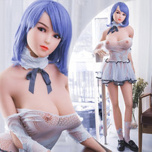 168cm Blue hair perspective makeup cosplay dream dolls fuck dolls