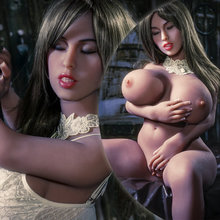 108cm Closed eyes dark goddess big tits exdoll lumidoll