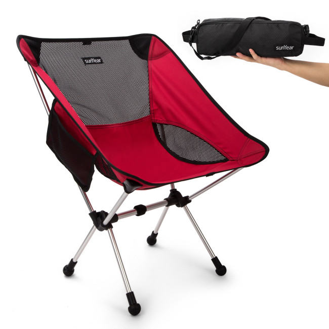 Portable Breathabl Sunyear Lightweight Compact Folding Camping Backpack Chairs
