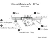 M4VR Rifle Adapter for Vive