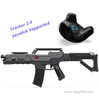 Vive Gun for Tracker 2.0 Joystick Supported