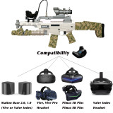 2019 NewScar VR gun for Vive Tracker