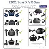 2021 Scar-X VR Gun Oculus Quest, Valve index, Vive, Windows Mixed Reality