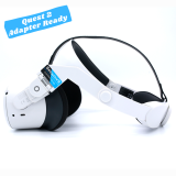 BeswinVR Halo Strap Quest 2- White