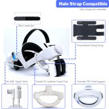 BeswinVR Halo Pad with PowerBank Mount 3 in 1