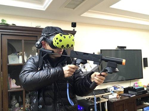 BeswinVR Magnetic VR Rifle Stock HTC VIVE