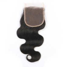 Natural Color 4*4 Lace Top Closure Human Virgin Hair Brazilian Body Wave