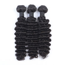 3pcs Bundles Weave Natural Color Deep Wave Virgin Human Hair