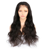 Body Wave Virgin Brazilian Human Hair Full Lace Wigs