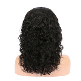 Classic Black Curly Lace Front Wigs 100% Human Hair