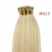 Blonde #613 Real Remy Human Hair 100g Micro Nano Ring Hair Extensions